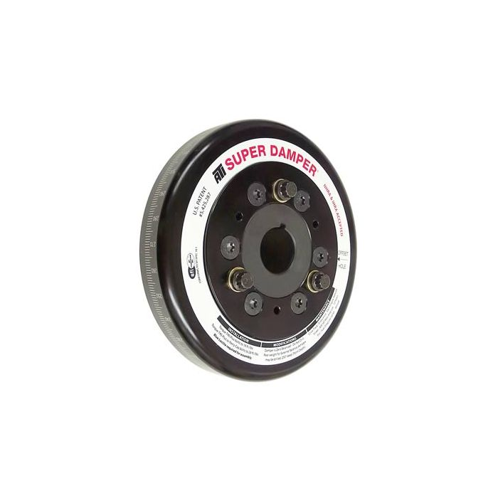 Serpentine Belt Pulley Groove Dimensions : Overdrive pulley with ati performance products serpentine dampner and belt total